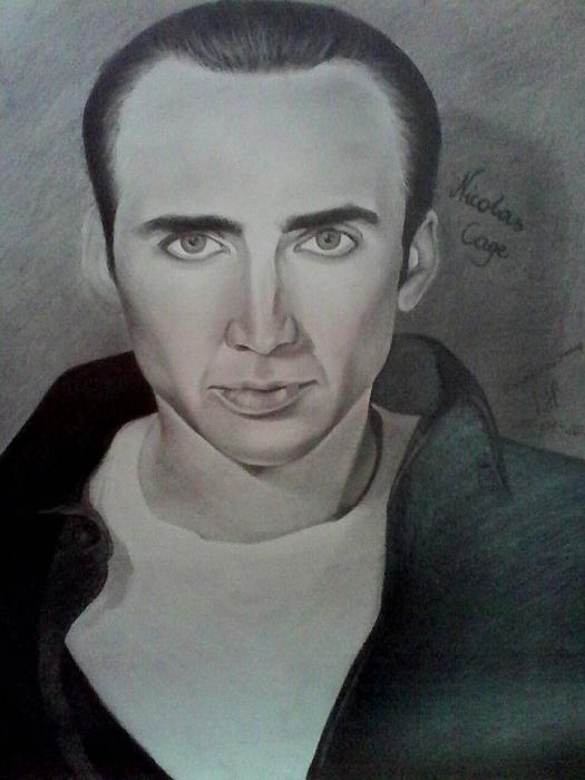 Nicolas Cage by MagdaProkop